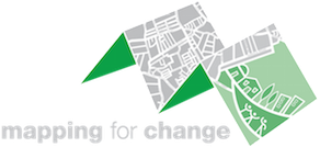 Mapping for Change logotype