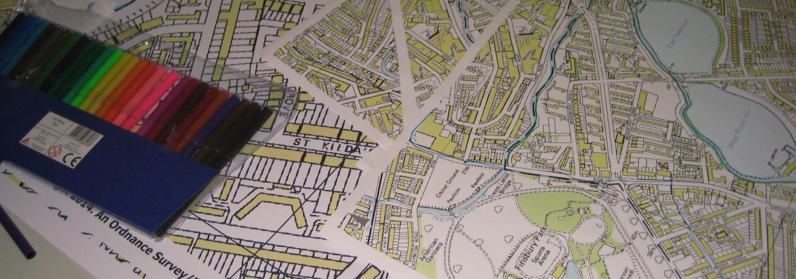 Woodberry Down mapping workshop