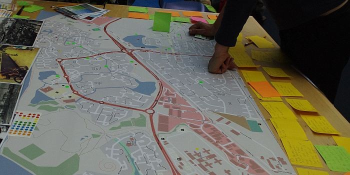 Mapping Thamesmead for Change @ the Leisure Centre