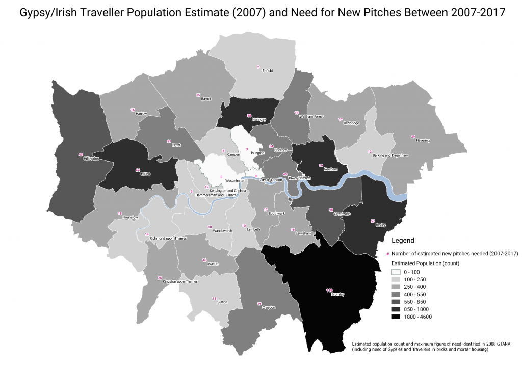 Assessment on the number of pitches needed (2007)