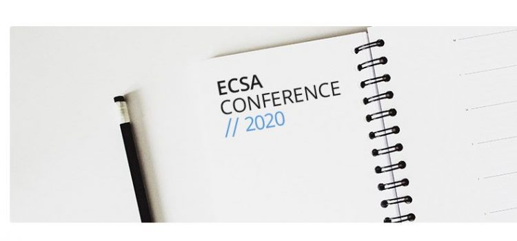 Our first online ECSA conference